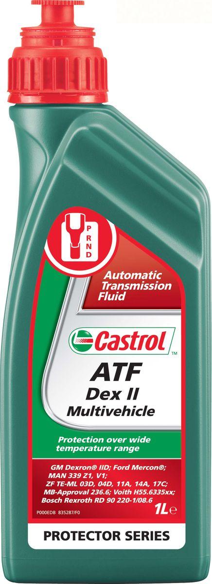 Купить Масло трансмиссионное Castrol ATF Dex II Multivehicle , для автоматических кпп, 1 л