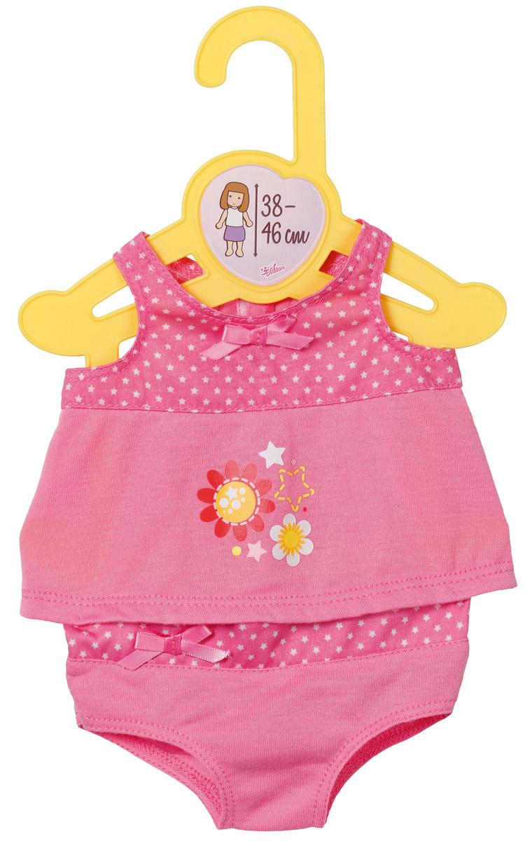 Baby Born Нижнее белье для куклы цвет розовый baby born подгузники для куклы