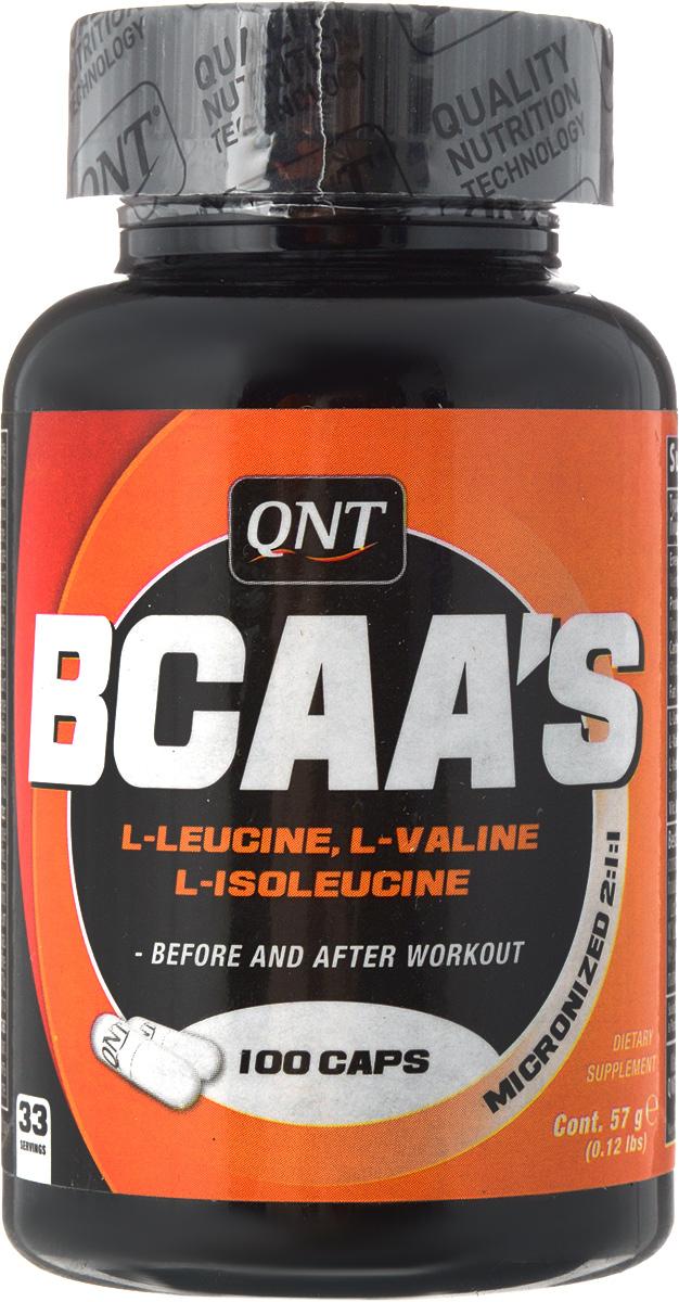 QNT BCAA's, 100 таблеток