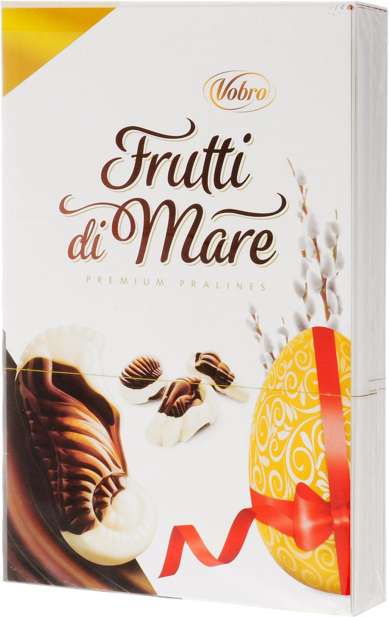 Vobro Frutti di Mare набор шоколадных конфет в виде морских ракушек Пасха, 175 г vobro cherry paradise набор шоколадных конфет вишня в ликере 105 г