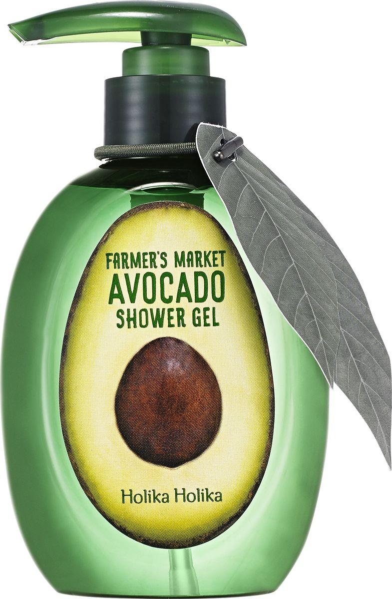 "Holika Holika Гель для душа ""Фармерс маркет"" с авокадо, 240 мл"