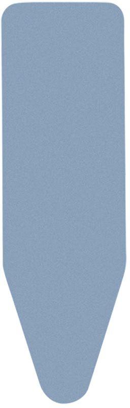 Чехол для гладильной доски Brabantia Perfect Fit, цвет: синий, 8 мм, 124 х 38 см. 316982316982Выполнен из специального износостойкого материала, обеспечивающего гарантированно длительный срок службы. Этот чехол в разы превосходит обычный хлопковый чехол по прочности и теплоустойчивости (макс. 260°C). Удобная фиксация на доске и отличное натяжение чехла – затягивающий шнур и система натяжения Stretch-System.
