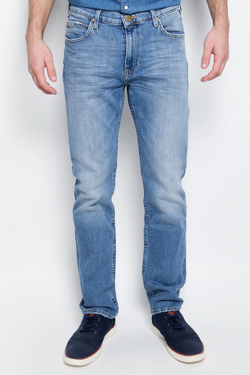 Купить Джинсы мужские Lee, цвет: голубой. L701APDF. Размер 30-32 (46-32)