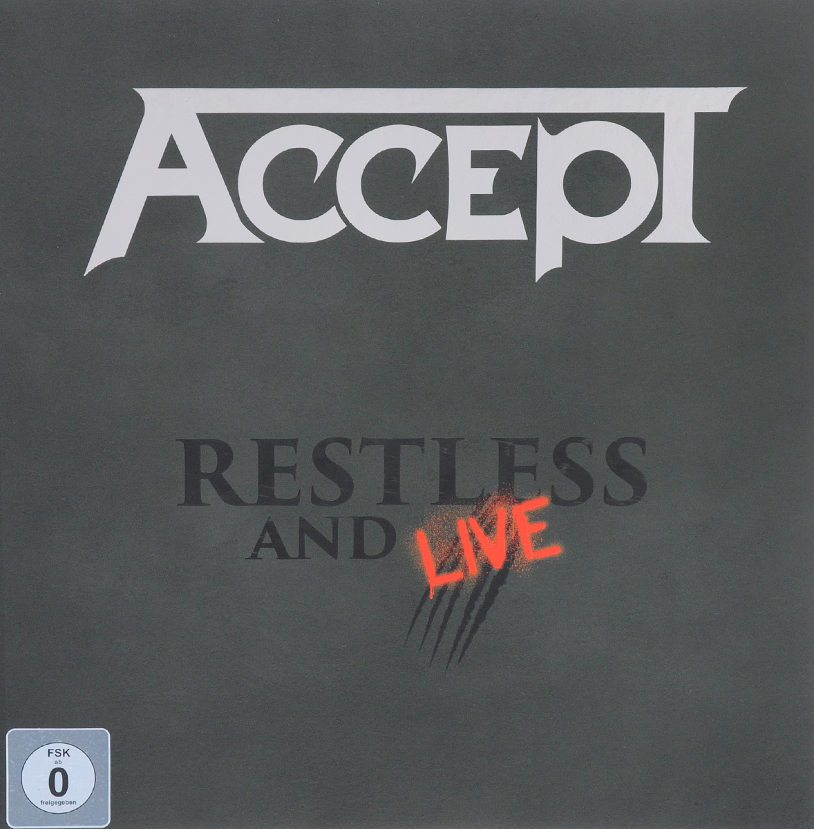 Accept Accept. Restless And Live (2 CD + DVD + Blu-ray) dvd blu ray
