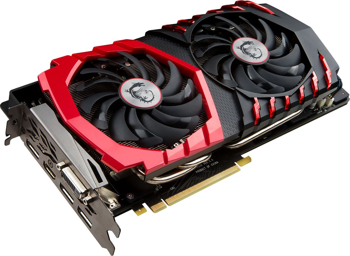 MSI GeForce GTX 1080 Gaming 8G 8GB видеокарта