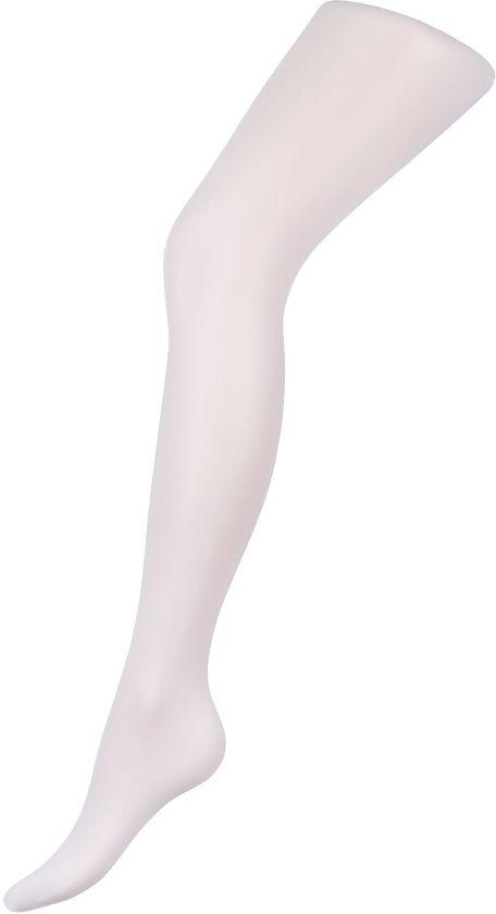 Колготки женские Charmante, цвет: белый. FLIRT VB 20. Размер 3FLIRT VB 20Шелковистые матовые женские колготки с заниженной талией и с широким анатомическим поясом, плоский шов, укрепленный мысок, хлопковая ластовица, формованная нога.