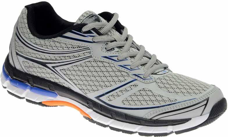 Кроссовки мужские Strobbs, цвет: серый. C2467-4. Размер 44C2467-4Стильные мужские кроссовки Strobbs отлично подойдут для активного отдыха и повседневной носки. Верх модели изготовлен из текстиляпо бесшовной технологии, что создает ощущение комфорта. Удобная шнуровка надежно фиксирует модель на стопе. Подошва обеспечивает легкость и естественную свободу движений. Мягкие и удобные, кроссовки превосходно подчеркнут ваш спортивный образ и подарят комфорт.