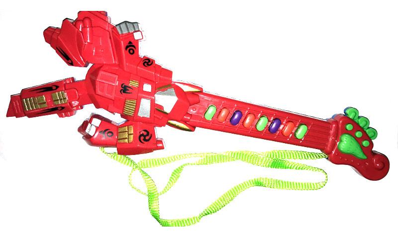 Best'ценник Гитара-синтезатор цвет красный музыкальный инструмент детский doremi синтезатор 37 клавиш с дисплеем