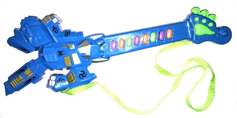 Best'ценник Гитара-синтезатор цвет синий музыкальный инструмент детский doremi синтезатор 37 клавиш с дисплеем