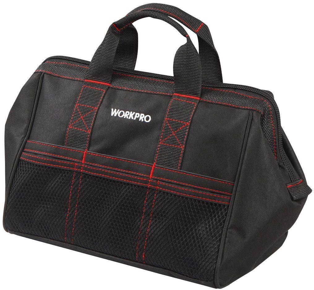 Сумка для инструментов WORKPRO, 6 карманов, 32 х 21 х 23 см. W081001 сумки савио в розницу купить
