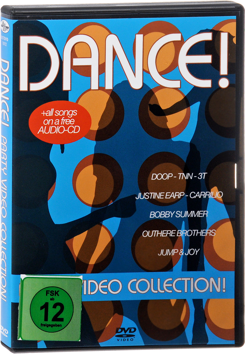 Dance! Party Video Collection (DVD + CD) eshiny mini red green laser projector 20 patterns christmas party dj lighting lights disco party bar dance stage light show y21