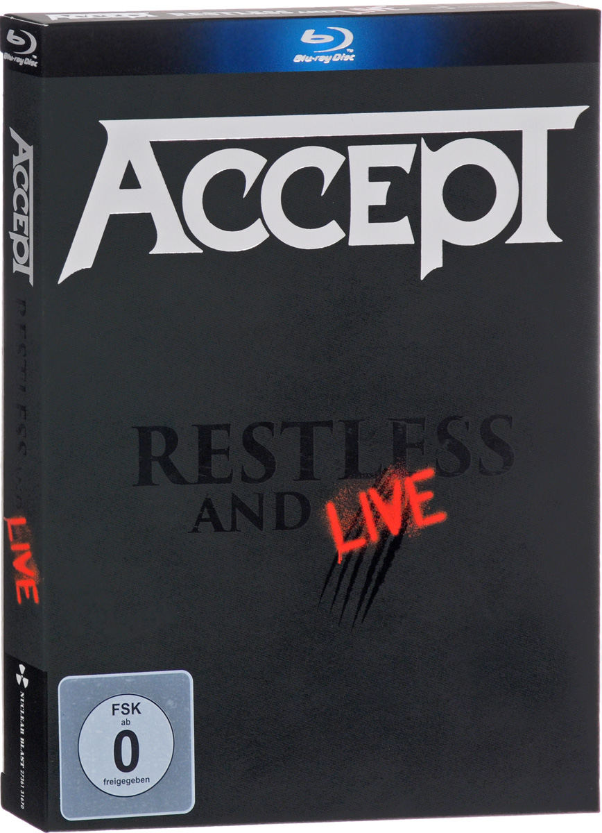 Accept Accept. Restless & live (2 CD + Blu-ray) ac dc live at donington blu ray