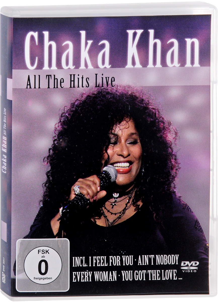 Chaka Khan: All The Hits Live mosunx simplestone live the life you love stand back case cover skin for ipad pro 12 9 tablet 60305