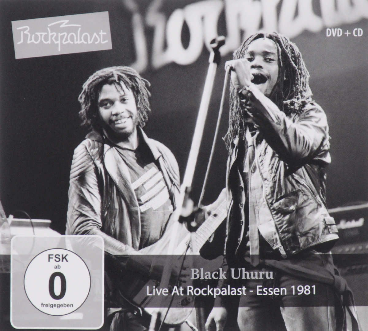 Black Uhuru Black Uhuru. Live At Rockpalast. Essen 1981 (CD + DVD)