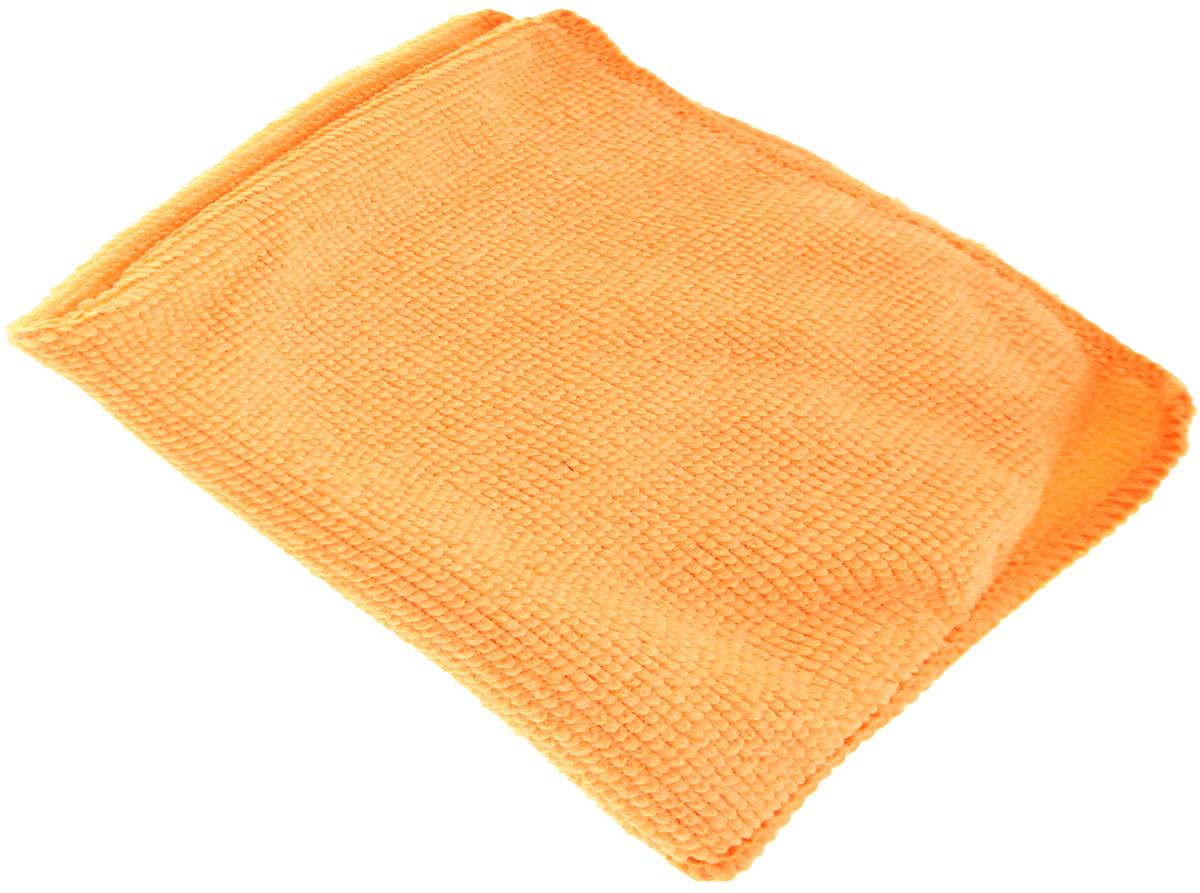 Салфетка универсальная La Chista, цвет: оранжевый, 30 х 30 см870144_оранжевыйУниверсальная салфетка La Chista, изготовленная из 80% полиэстера и 20% полиамида, обладает идеальными для ежедневной уборки свойствами. Она прекрасно подойдет, как для влажной, так и для сухой уборки. Не оставляет ворсинок и разводов, прекрасно впитывает воду, хорошо стирается и сохраняет свои свойства после многократного использования. Салфетку можно использовать с любыми чистящими средствами.