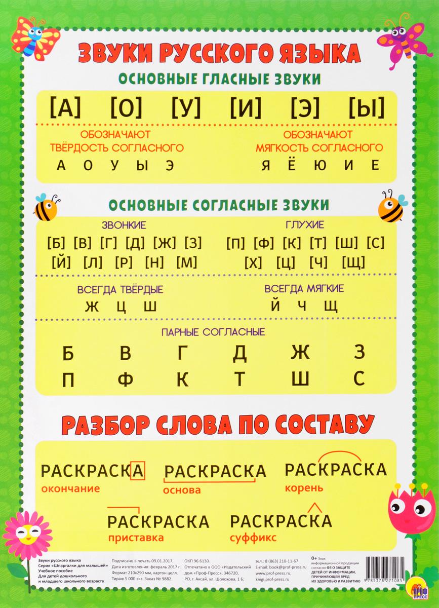 Звуки русского языка. Учебное пособие