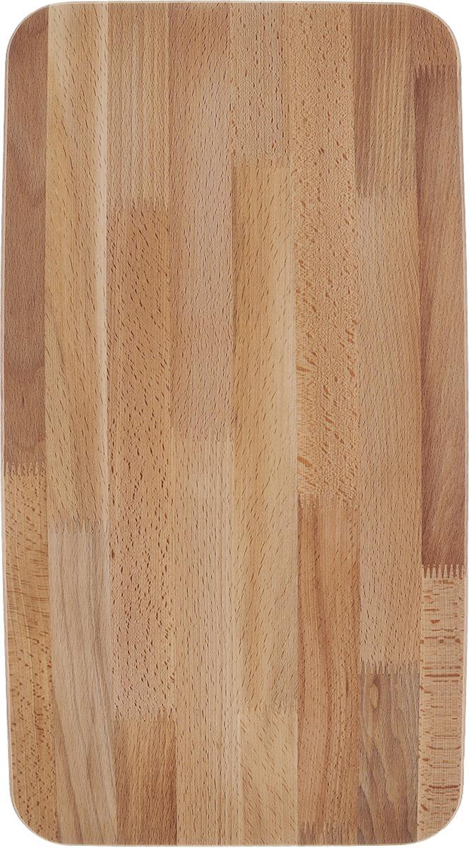 Доска разделочная Mayer & Boch, 60 х 30 х 2 см20-1Разделочная доска Mayer & Boch изготовлена из дерева. Изделие не содержит красителей - перманентная краска не выцветает и не смывается.Доска отлично подходит для приготовления и измельчения пищи, а также для сервировки стола.Размеры: 60 х 30 х 2