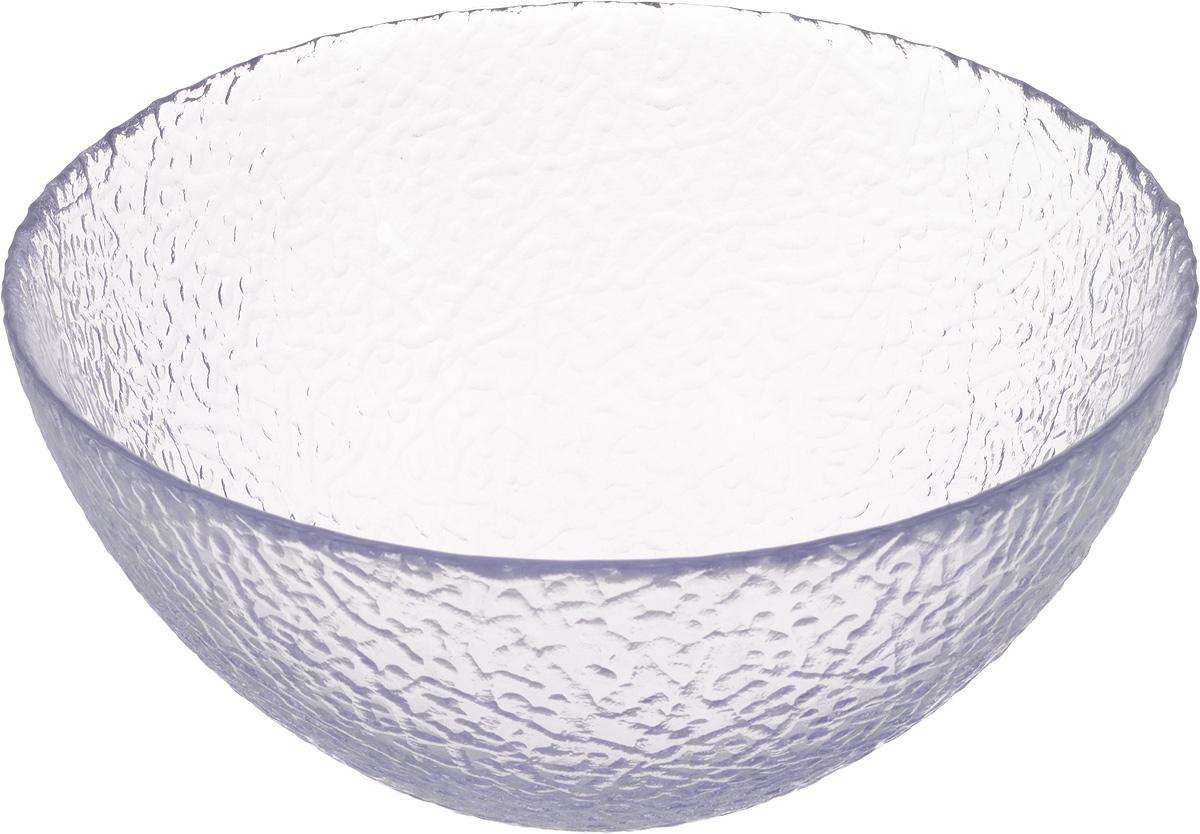 Салатник NiNaGlass Ажур, цвет: светло-сиреневый, диаметр 20 см83-042-ф200 ЛАВАНСалатник NiNaGlass Ажур выполнен из высококачественного стекла и декорирован рельефным узором. Идеален для сервировки салатов, овощей и фруктов, ягод, вторых блюд, гарниров и многого другого. Он отлично подойдет как для повседневных, так и для торжественных случаев.Такой салатник прекрасно впишется в интерьер вашей кухни и станет достойным дополнением к кухонному инвентарю.Диаметр салатника (по верхнему краю): 20 см.Высота стенки: 9 см.