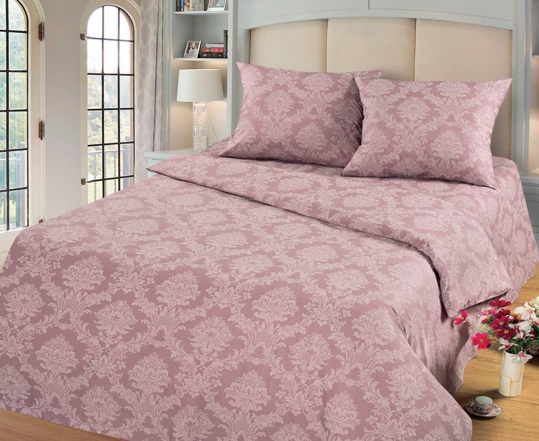 Комплект белья Cleo Топаз, 2-спальный, наволочки 70х70, цвет: темно-розовый20/003-PGКомплект постельного белья Cleo выполнен из поплина в романтическом стиле, визуально текстура нанесения рисунка напоминает жаккард. Поплин - 100% хлопок, ему характерен репсовый эффект, который образуется методом чередования толстых и тонких нитей, в результате на поверхности появляются рубчики, создавая неравномерность полотна. Постельное белье из поплина обладает рядом преимуществ: мягкое и шелковистое, натуральное, экологически чистое, гипоаллергенное, прочное, не деформируется, не растягивается и держит форму, пропускает воду и воздух, прекрасно стирается в прохладной воде. Комплект состоит из пододеяльника, проПододеяльник, простыня, 2 наволочкистыни и двух наволочек.