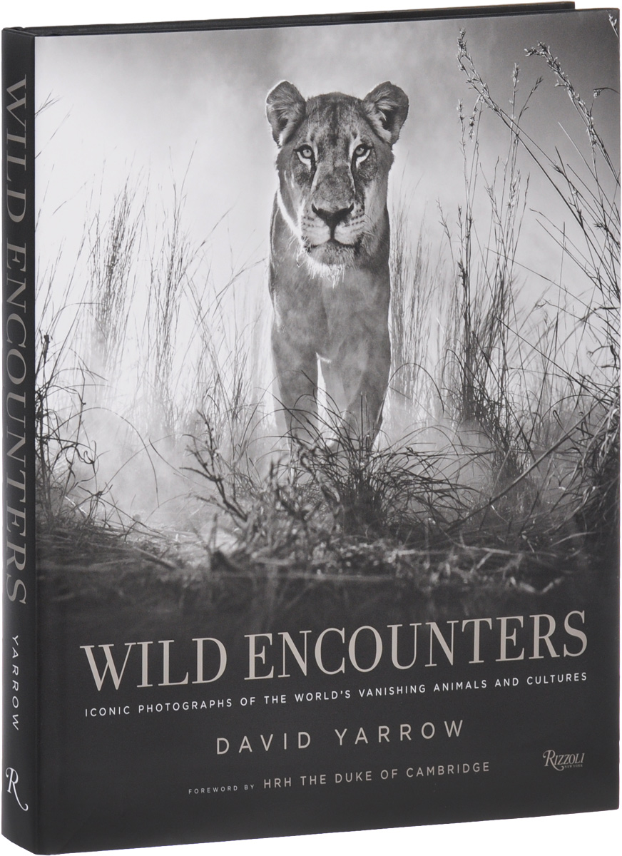 Wild Encounters: Iconic Photographs of the World's Vanishing Animals and Cultures medium to dark bisque