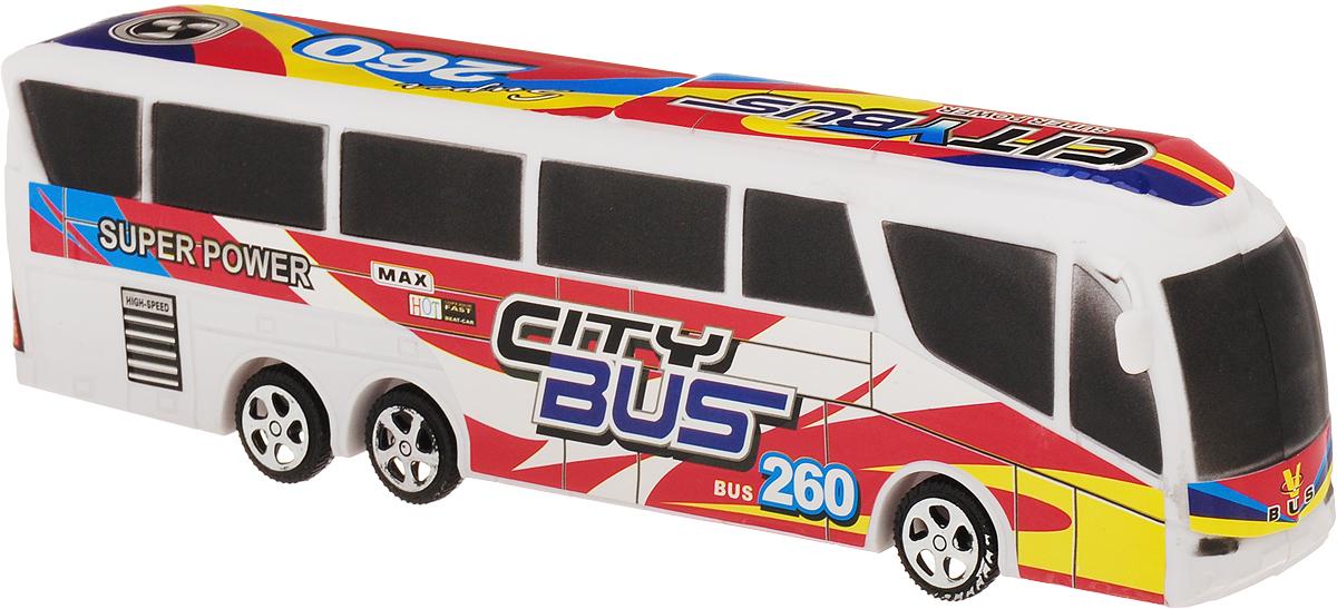 Best'ценник Автобус инерционный цвет белый спот ★ импортированные голубой автобус автобус автобус автомобиль тайо игрушка тянуть обратно автомобиль корея продукты