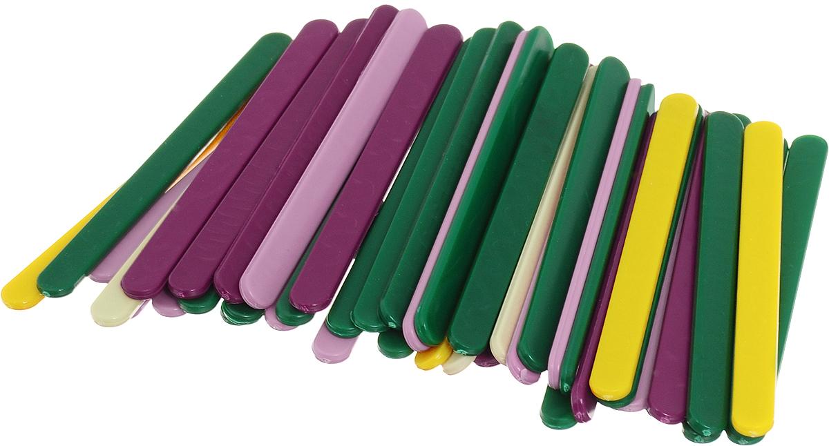Silwerhof Счетные палочки Пластилиновая коллекция 50 шт670611-50Счетные палочки Silwerhof помогут вашему ребенку развить первые навыки счета. Это незаменимый дидактический материал, предназначенный для обучения математике и развития зрительного восприятия и мелкой моторики рук. С помощью палочек ребенок сможет самостоятельно выложить предложенный рисунок, цифру, букву или фигуру. Палочки изготовлены из безопасного пластика разных цветов.