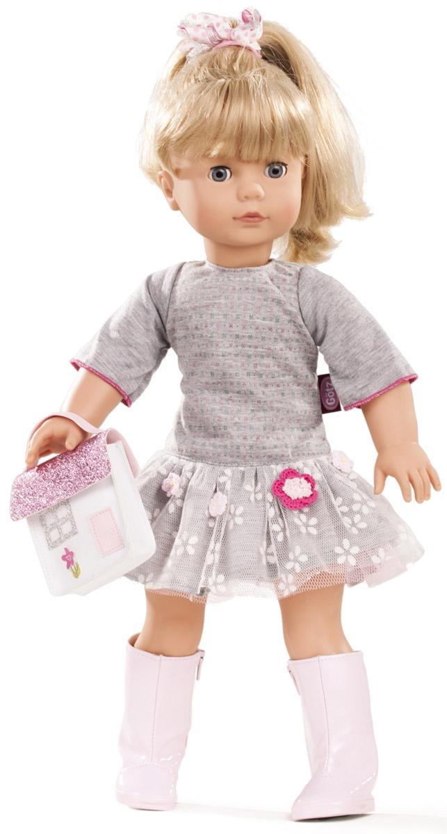 Gotz Кукла Джессика блондинка цвет одежды серый