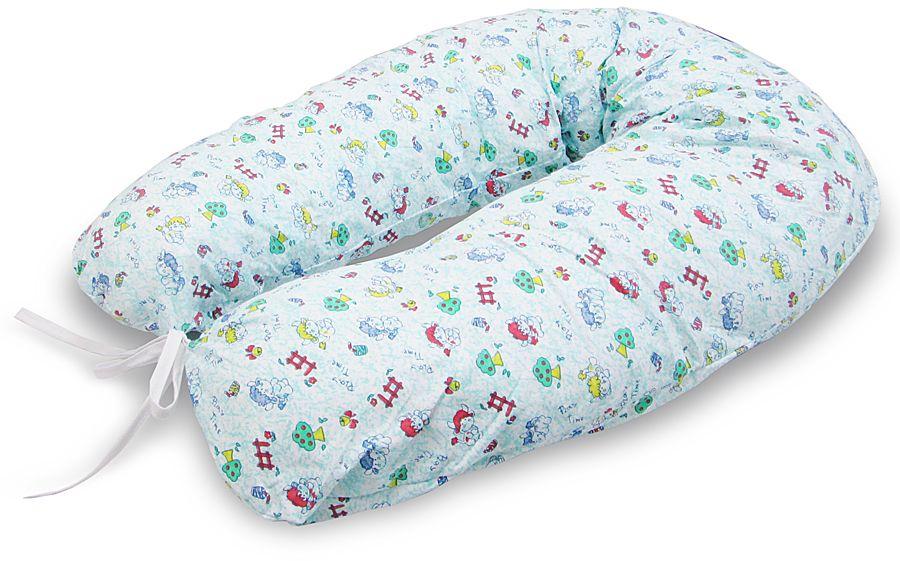 Фэст Подушка для беременных и кормящих Коровки цвет голубой4603500159931Подушка для беременных и кормящих Фэст Коровки обеспечит комфорт мамы и малыша.Подушка имеет форму подковы. Она предназначена для беременных и кормящих мам, позволяет принять удобное положение во время сна, отдыха на больших сроках беременности и кормления грудничка. Для уменьшения нагрузки на спину, плечи, руки и шею во время кормления расположите подушку вокруг талии. Для поддержания ребенка в разных положениях и защиты его от падения, расположите малыша в центре подушки. Изделие оформлено ярким рисунком.Чехол подушки выполнен из 100% хлопка. Перед применением рекомендуется постирать наволочку. Советы по уходу: ручная или машинная стирка при температуре воды не выше 40 °C, не отбеливать, химическая чистка запрещена, гладить при средней температуре, сушка в барабане запрещена.