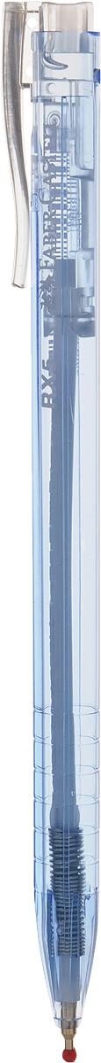 Faber-Castell Ручка шариковая RX-5 синяя цвет корпуса голубой545351Шариковая ручка Faber-Castell RX-5 имеет эргономичную трехгранную форму, качественный нажимной механизм и тонкий наконечник. Чернила пониженной вязкости. Корпус дополнен упругим клипом.