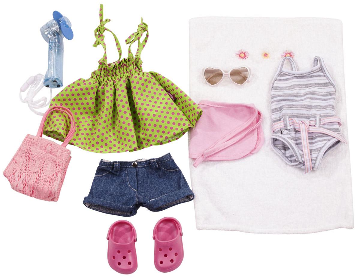 Gotz Набор летней одежды и аксессуаров для кукол куклы и одежда для кукол gotz набор для катания на роликах