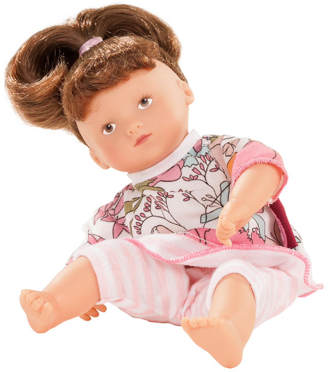 Gotz Пупс Мини Маффин шатенка куклы и одежда для кукол gotz мини маффин 22 см