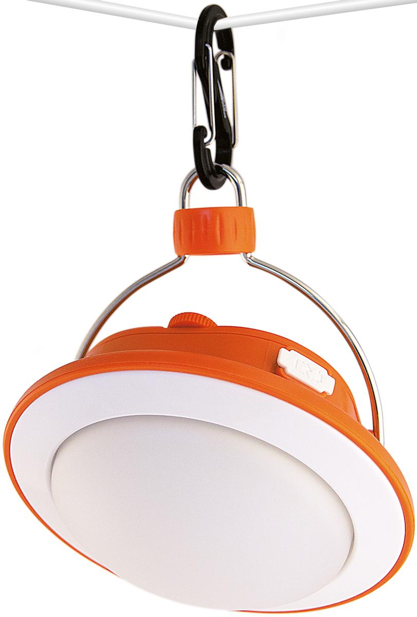 Фонарь кемпинговый Яркий луч CL-360A. Походная люстра 64606400105541Портативный кемпинговый фонарь просто незаменим для тех людей, кто длительное время любит проводить на даче, в походе, на рыбалке. Особенности: - 12 белых и 3 красных SMD светодиодов обеспечивают мягкий рассеянный свет для местного освещения- Два литий-ионных аккумулятора 18650 3.7 В и общей емкостью 5200 мАч- USB-разъемы. Для зарядки аккумуляторов фонаря (время заряда - 7-8 часов). Фонарь можно использовать как зарядное устройство, т.е. заряжать телефоны, смартфоны и пр. - Карабин для удобного подвешивания фонаря- Индикатор зарядки аккумуляторов в кнопке- Регулируемые положения относительно держателяПять режимов работы. 1 режим: 100% белый свет, световой поток 360 люмен, время работы - до 12 ч. 2 режим: 30% белый свет, световой поток 120 люмен, время работы - до 36 ч. 3 режим: 6% белый свет, световой поток 20 люмен, время работы - до 240 ч. 4 режим: 100% красный свет, световой поток 12 люмен, время работы - до 60 ч. 5 режим: мигающий красный свет S.O.S., время работы - до 90 ч. Время работы указано от полностью заряженных аккумуляторов.
