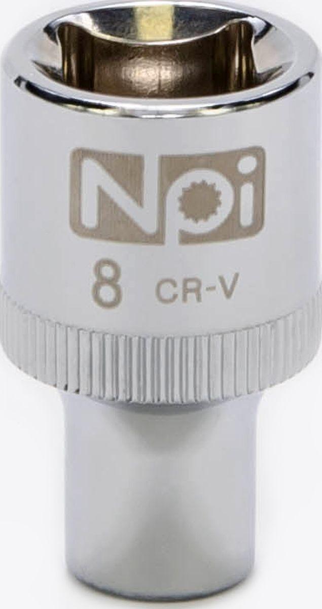 Головка торцевая NPI SuperLock, 1/2, 8 мм20008Торцевая головка NPI выполнена из высокопрочная хром-ванадиевой стали и применяется с гайковертами, трещетками, воротками. Торцевая головка выполнена по технологии Суперлок. Торцевая головка обеспечивает максимальный крутящий момент по отношению к резьбе и выдерживает ударные нагрузки. Размер ключа (метрический): 8 мм.Размер ключа (дюймы): 1/2 .Посадочный размер: 1/2.Длина головки: 38 мм.