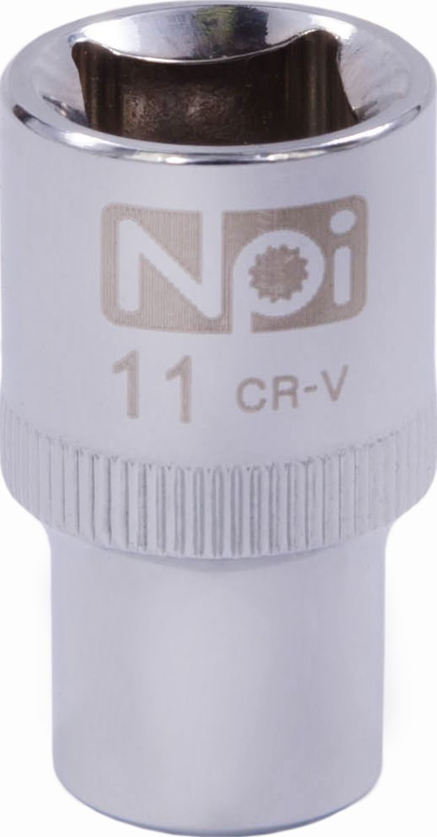 Головка торцевая NPI SuperLock, 1/2, 11 мм20011Торцевая головка NPI выполнена из высокопрочная хром-ванадиевой стали и применяется с гайковертами, трещетками, воротками. Торцевая головка выполнена по технологии Суперлок. Торцевая головка обеспечивает максимальный крутящий момент по отношению к резьбе и выдерживает ударные нагрузки. Размер ключа (метрический): 11 мм.Размер ключа (дюймы): 1/2 .Посадочный размер: 1/2.Длина головки: 38 мм.