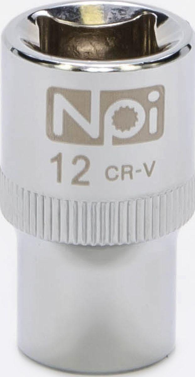 Головка торцевая NPI SuperLock, 1/2, 12 мм20012Торцевая головка NPI выполнена из высокопрочная хром-ванадиевой стали и применяется с гайковертами, трещетками, воротками. Торцевая головка выполнена по технологии Суперлок. Торцевая головка обеспечивает максимальный крутящий момент по отношению к резьбе и выдерживает ударные нагрузки. Размер ключа (метрический): 12 мм.Размер ключа (дюймы): 1/2 .Посадочный размер: 1/2.Длина головки: 38 мм.