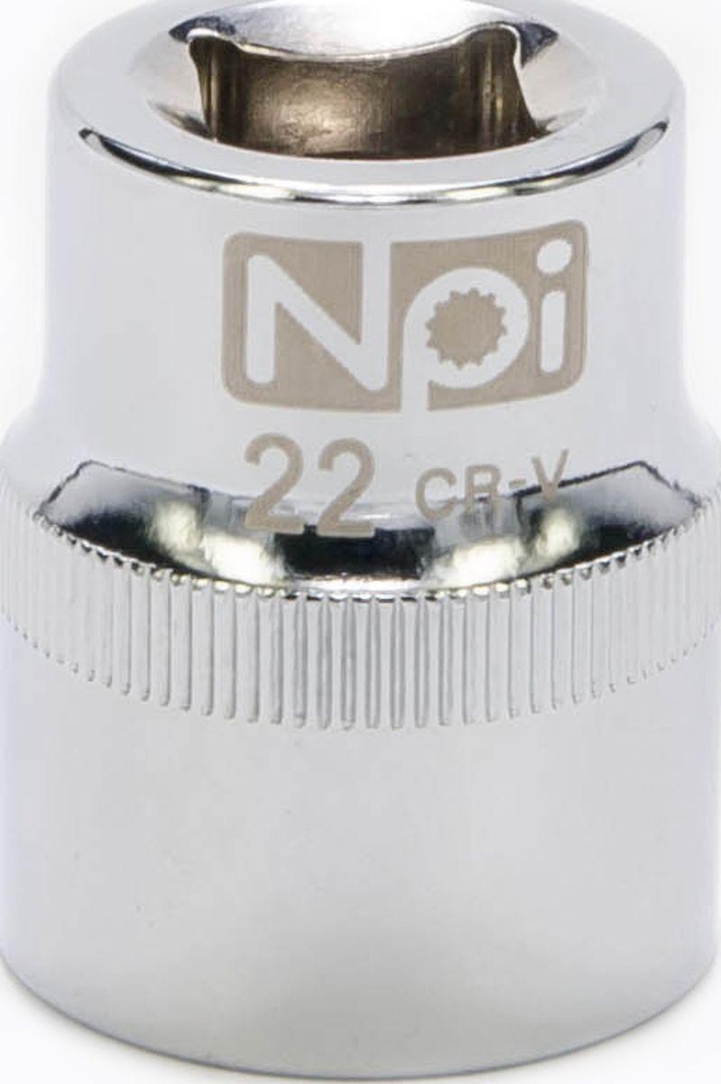 Головка торцевая NPI SuperLock, 1/2, 22 мм20022Торцевая головка NPI выполнена из высокопрочная хром-ванадиевой стали и применяется с гайковертами, трещетками, воротками. Торцевая головка выполнена по технологии Суперлок. Торцевая головка обеспечивает максимальный крутящий момент по отношению к резьбе и выдерживает ударные нагрузки. Размер ключа (метрический): 22 мм.Размер ключа (дюймы): 1/2 .Посадочный размер: 1/2.Длина головки: 38 мм.