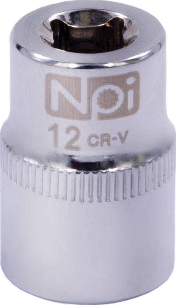 Головка торцевая NPI SuperLock, 1/4, 12 мм20230Торцевая головка NPI выполнена из высокопрочная хром-ванадиевой стали и применяется с гайковертами, трещетками, воротками. Торцевая головка выполнена по технологии Суперлок. Торцевая головка обеспечивает максимальный крутящий момент по отношению к резьбе и выдерживает ударные нагрузки. Размер ключа (метрический): 12 мм. Размер ключа (дюймы): 1/4 . Посадочный размер: 1/4. Длина головки: 25 мм.
