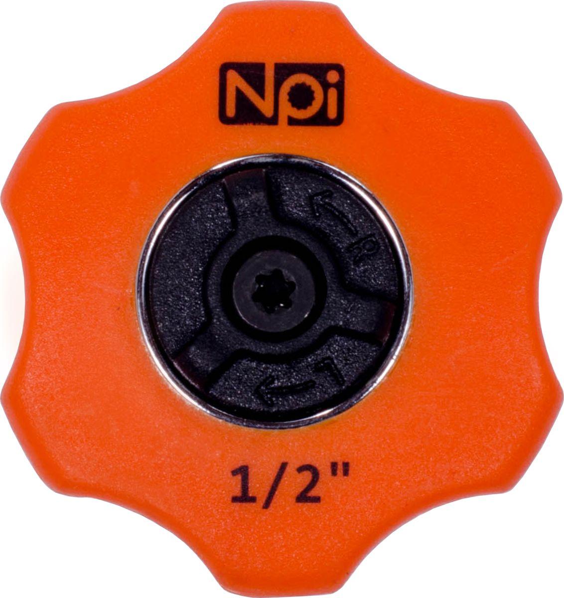 Трещотка-мини NPI, 1/2, 72 зуба20512Мини-трещотка NPI используется для монтажа/демонтажа различных резьбовых соединений. Трещетка имеет встроенный переключатель вращения и прочное композитное покрытие. Количество зубьев - 72. Присоединительный размер: 1/2.