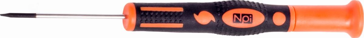 Отвертка шлицевая NPI CrMo, для точных работ, SL2 x 50 мм30082Отвертка шлицевая NPI CrMo, изготовленная из высокопрочной хром-молибден-ванадиевой стали, предназначена для точных работ. Отвертка имеет магнитный наконечник и эргономичную рукоятку. Тип наконечника: SL (шлиц).Длина жала: 50 мм. Длина шлица: 2 мм.