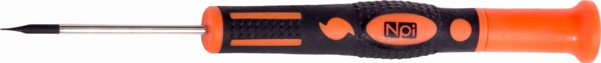 Отвертка шлицевая NPI CrMo, для точных работ, SL2,5 x 50 мм30083Отвертка шлицевая NPI CrMo, изготовленная из высокопрочной хром-молибден-ванадиевой стали, предназначена для точных работ. Отвертка имеет магнитный наконечник и эргономичную рукоятку. Тип наконечника: SL (шлиц).Длина жала: 50 мм. Длина шлица: 2,5 мм.