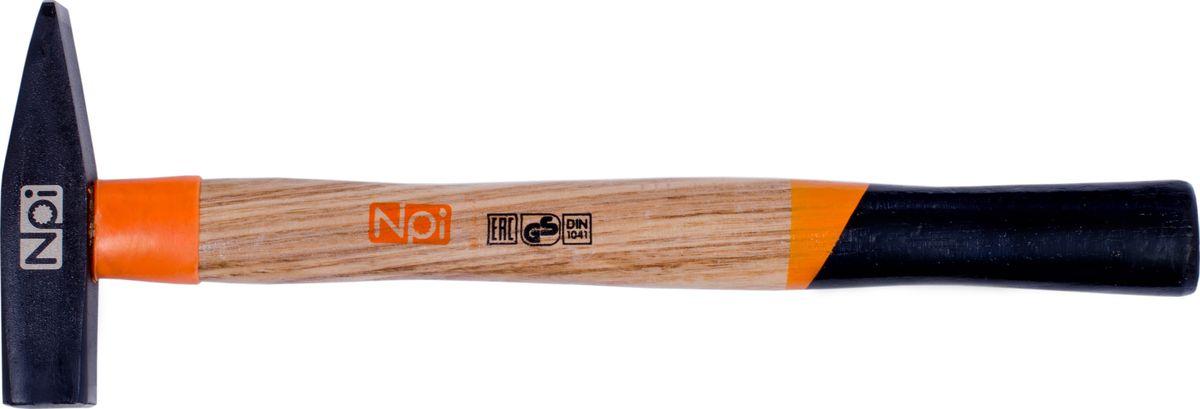 Молоток слесарный NPI, 300 г35013Слесарный молоток NPI предназначен для мелких монтажных и строительных работ. Головка инструмента (боек), кованная, закаленная индукционным методом, крепится с помощью расклинивания. Молоток имеет герметизацию верхней части соединения бойка для защиты от рассыхания. Рукоятка эргономической формы выполнена из ясеневой древесины и имеет защитное кольцо.