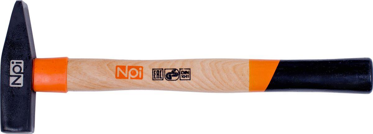 Молоток слесарный NPI, 500 г35015Слесарный молоток NPI предназначен для мелких монтажных и строительных работ. Головка инструмента (боек), кованная, закаленная индукционным методом, крепится с помощью расклинивания. Молоток имеет герметизацию верхней части соединения бойка для защиты от рассыхания. Рукоятка эргономической формы выполнена из ясеневой древесины и имеет защитное кольцо.