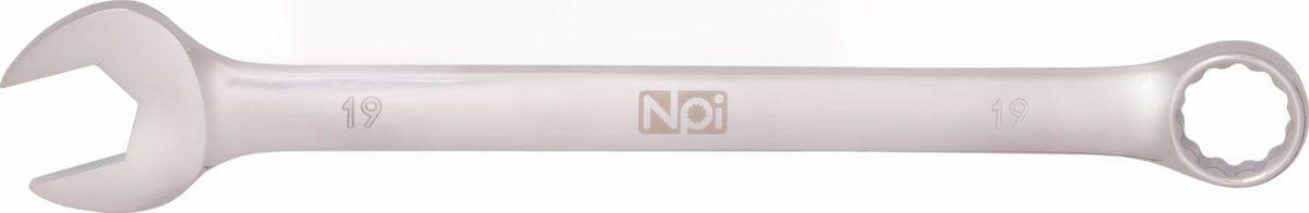 Ключ гаечный комбинированный NPI MacDrive, 19 мм ключ разводной npi crv 200 мм