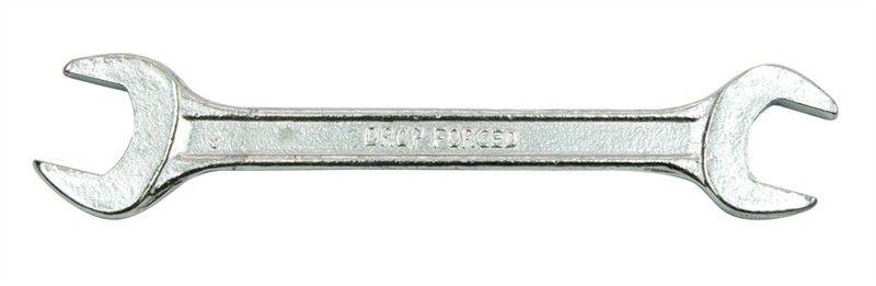 Ключ рожковый Vorel, 19 х 22 мм50220Ключ рожковый двусторонний размером 19 мм и 22 мм выполнен из углеродистой стали. Головки ключа наклонены на 15 градусов, что делает инструмент более маневренным.