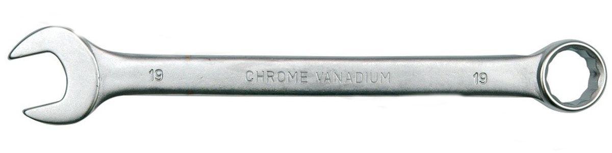 Ключ комбинированный Vorel Сатин CrV, 7 мм51672Ключ гаечный комбинированный изготовлен из высококачественной хром-ванадиевой стали. Финишное прочное хромированное покрытие защищает ключ от воздействия коррозии, делает его более износостойким и легко очищается от загрязнений. Продуманный профиль накидной части ключа смещает пятно контакта с ребра грани на ее поверхность, что предотвращает повреждение болтов и гаек даже при самых высоких нагрузках. Эргономичный профиль рукоятки ключа позволяет развивать большее усилие без риска повреждения кистей рук.