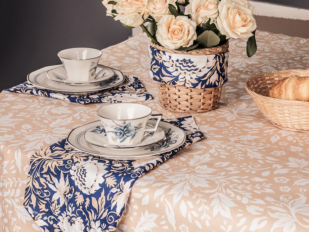 Скатерть Bonita Белые росы, прямоугольная, 150 х 180 см10010816823Великолепная скатерть Bonita, изготовленная из натурального хлопка, создаст атмосферу уюта и домашнего тепла в интерьере вашей кухни. Скатерть органично впишется в интерьер любого помещения, а оригинальный мотив удовлетворит даже самый изысканный вкус.В современном мире кухня - это не просто помещение для приготовления и приема пищи. Это особое место, где собирается вся семья и царит душевная атмосфера.