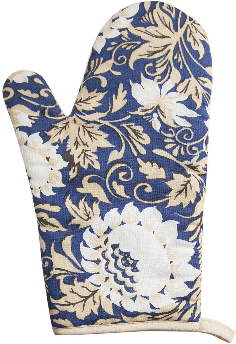"""Варежка-прихватка """"Bonita"""", изготовленная из 100% хлопка, оформлена оригинальным и ярким рисунком. Прихватка предназначена для защиты рук от воздействия высоких температур и появления ожогов. Изделие оснащено петелькой, за которую его можно повесить в любое удобное место. Такая прихватка станет отличный вариантом подарка для практичной и современной хозяйки."""