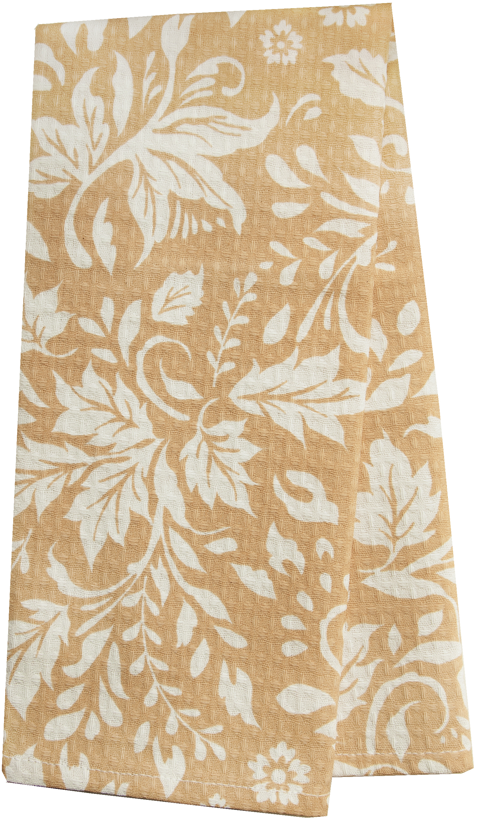 Полотенце кухонное Bonita Белые росы, цвет: белый, бежевый, 35 х 61 см романтика кухонное полотенце розовый ноктюрн 40х50 см 2 шт