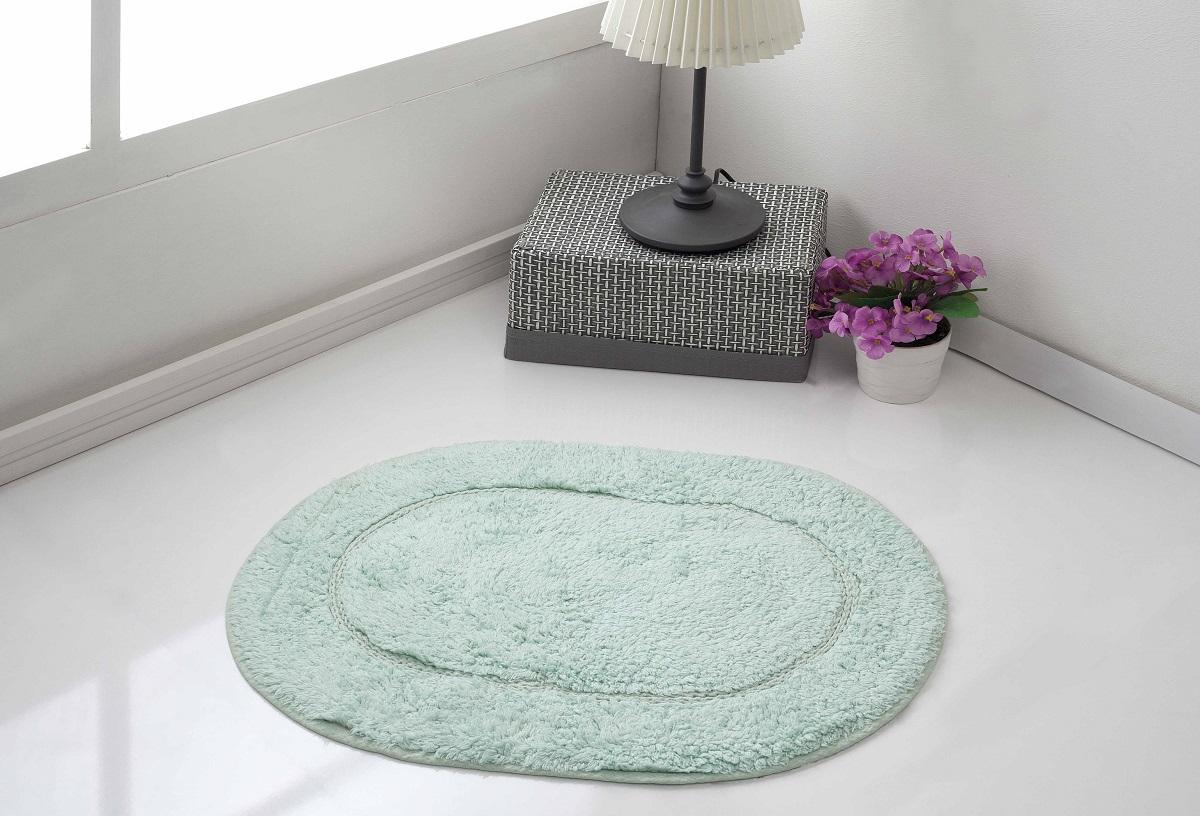 Коврик для ванной Karna  Modalin. Galya , цвет: ментоловый, 45 х 65 см - Коврики