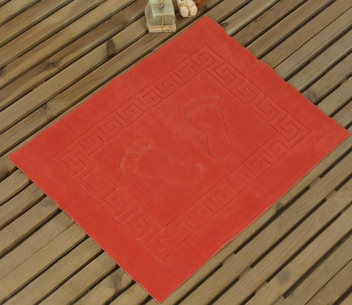 Коврик для ванной Karna Likya, цвет: персиковый, 50 х 70 см631/CHAR002Коврик Karna сделан из 100% полиэстера. Полиэстер является синтетическим волокном. Ткань, полностью изготовленная из полиэстера, даже после увлажнения, очень быстро сохнет. Изделия из полиэстера практически не требовательны к уходу и обладают высокой устойчивостью к износу. Изделия из полиэстера не мнутся и легко стираются, после стирки очень быстро высыхают. Материал очень прочный, за время использования не растягивается и не садится. А также обладает высокой влагонепроницаемостью.